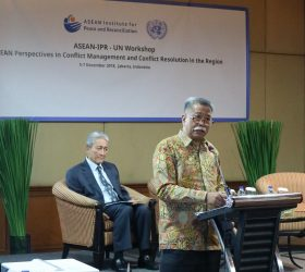 OPENING REMARKS OF DEPUTY SECRETARY-GENERAL OF ASEAN AT THE ASEAN-IPR - UN WORKSHOP