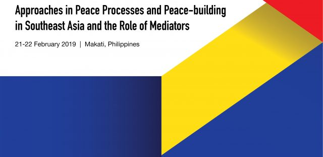 PRE-EVENT PRESS RELEASE - Training Series for the ASEAN Institute for Peace and Reconciliation (ASEAN-IPR)