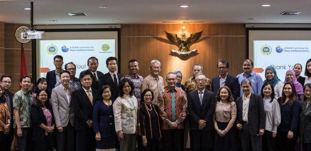PRESS RELEASE - ASEAN-IPR RESEARCH PROJECT ON MINDANAO KICK-STARTS IN JAKARTA