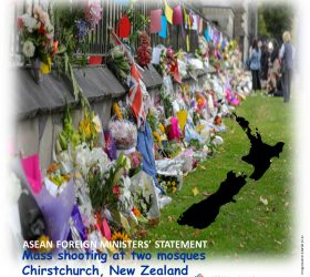 ASEAN Foreign Ministers' Statement on the Mass Shooting at Two Mosques in Chirstchruch, New Zealand 15 March 2019