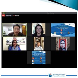 ASEAN-IPR DISCUSSION SERIES: WOMEN, PEACE, AND SECURITY & COVID-19 IN ASEAN