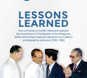 Ebook Lessons Learned from a Process of Conflict Resolution between GRP and MNLF as Mediated by Indonesia (1993-1996)