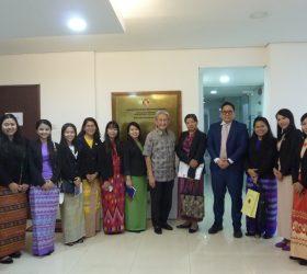 Myanmar Young Diplomats Study Visit