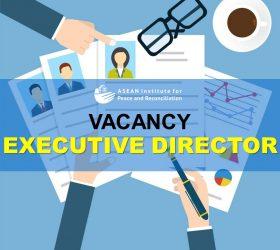 Vacancy - Executive Director