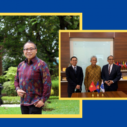 Appointment of Mr. I Gusti Agung Wesaka Puja as  Executive Director of the ASEAN-IPR