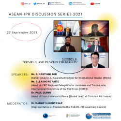 ASEAN-IPR DISCUSSION SERIES 2021 SESSION 4:
